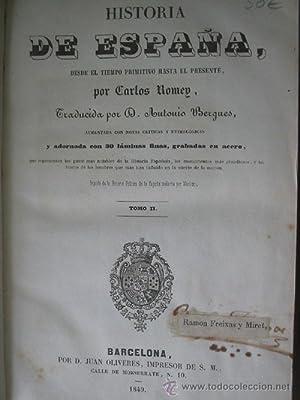 HISTORIA DE ESPAÑA II: ROMEY, Carlos