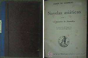 NOVELAS ASIÁTICAS ( 5 tomos): CONDE DE GOBINEAU