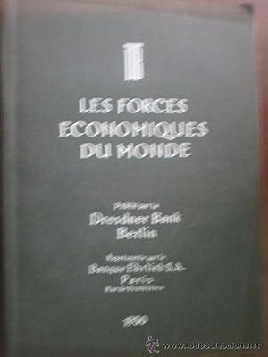 LES FORCES ECONOMIQUES DU MONDE: Sin autor