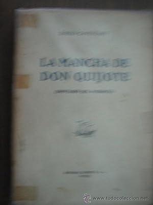 LA MANCHA DE DON QUIJOTE: CAVESTANY, Pablo