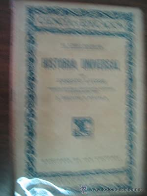 HISTORIA UNIVERSAL: LAVISSE, Ernesto
