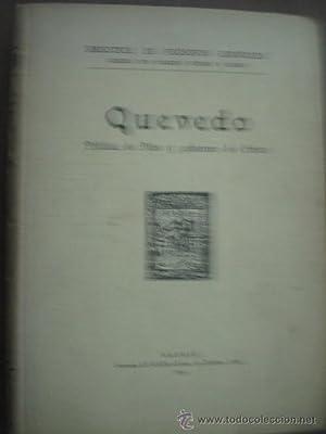 POLÍTICA DE DIOS Y GOBIERNO DE CRISTO: QUEVEDO, Francisco de