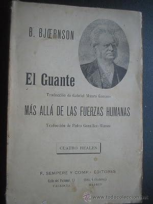 EL GUANTE/ MÁS ALLÁ DE LAS FUERZAS HUMANAS: BJORESON, B.
