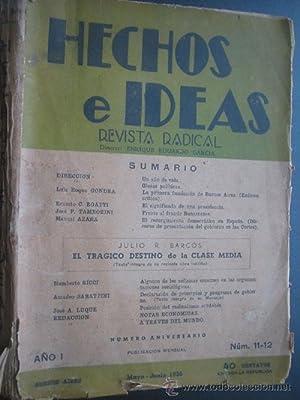 HECHOS E IDEAS: Varios autores