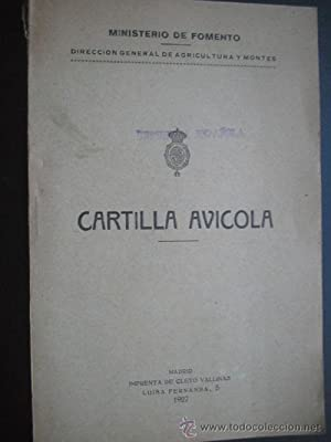CARTILLA AVÍCOLA