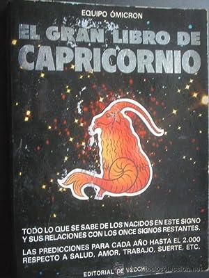 EL GRAN LIBRO DE CAPRICORNIO (tomo II): EQUIPO DE EXPERTOS OMICRON