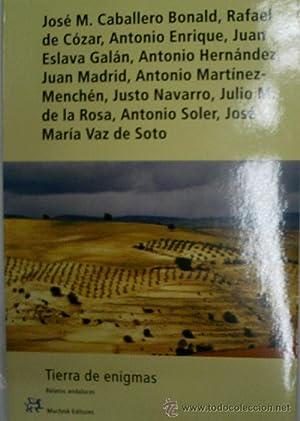 TIERRA DE ENIGMAS. RELATOS ANDALUCES: CABALLERO BONALD, RAFAEL