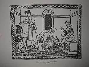 Grabado :Petrus Hispanus, Thesaurus Pauperum. EL GRABADO: Sin autor