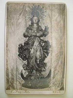 Antigua Fotografía - Old Photography : Imatge tipo barroco catalá, segle XVIII: Sin ...
