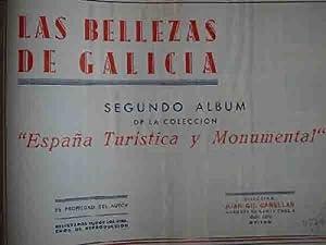 LAS BELLEZAS DE GALICIA. España Turistica y Monumental (Album Segundo de la colección...