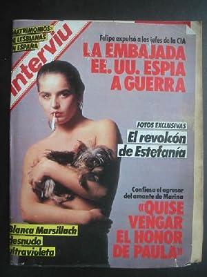 INTERVIU AÑO 10, Nº470. 15 - 21 MAYO 1985: SEBASTIÁN, Pablo (DIRECTOR)