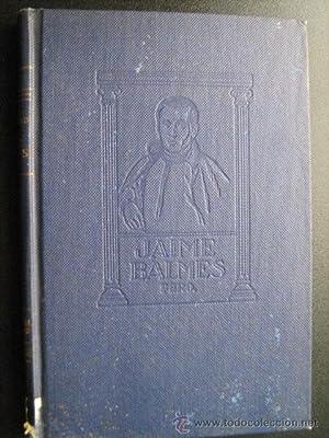 JAIME BALMES, PBRO.: RÍOS SARMIENTO, Juan