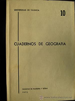 CUADERNOS DE GEOGRAFÍA. N 10: Varios autores