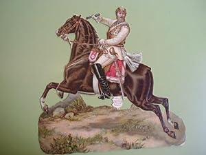 Antiguo Cromo Troquelado - Old Chrome : FEDERICO III de Prusia: Sin autor