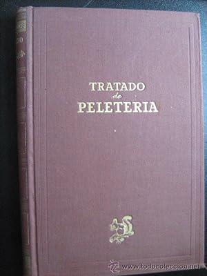 TRATADO DE PELETERÍA: TAPBIOLES, José