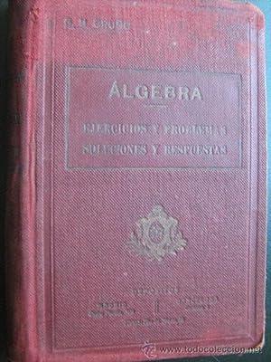 EJERCICIOS Y PROBLEMAS DE ÁLGEBRA: BRUÑO, G.M.