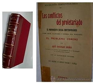 LOS CONFLICTOS DEL PROLETARIADO Y EL MOVIMIENTO SOCIAL CONTEMPORANEO: CASCALES MUÑOZ José