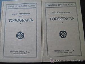 TOPOGRAFÍA (2 volúmenes): WERKMEISTER, P.
