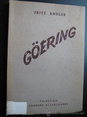 GÖERING: ANDLER, Fritz