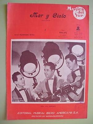Partitura - Score : MAR Y CIELO - Bolero: RODRÍGUEZ REYES Julio (Música)
