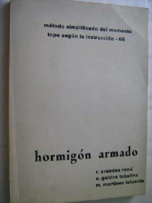 MÉTODO SIMPLIFICADO DEL MOMENTO TOPE SEGÚN LA INSTRUCCIÓN-68. HORMIGÓN ...