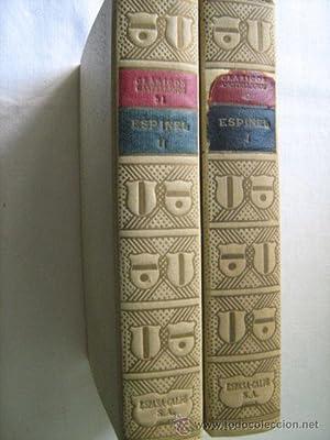 VIDA DE MARCOS DE OBREGÓN (2 volúmenes): ESPINEL