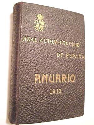 REAL AUTOMÓVIL CLUB DE ESPAÑA, ANUARIO 1913: VARIOS .