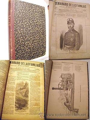 SEMANARIO DE LAS FAMILIAS. Del nº1 al 53. Año 1883: VARIOS AUTORES .