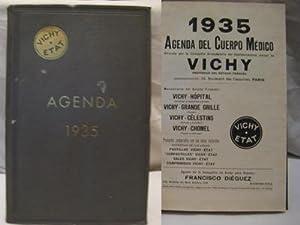 AGENDA 1935. VICHY ETAT: ANONIMO .