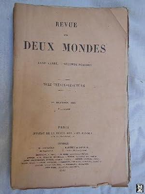 REVUE DES DEUX MONDES. T 35, 1 er octobre 1861.: QUINET Edgar; LAVERGNE L de; SÉGUR Louis de; ...