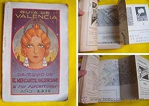 GUIA DE VALENCIA. 1931: Sin autor