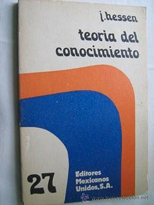 TEORÍA DEL CONOCIMIENTO: HESSEN, J.