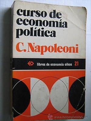 CURSO DE ECONOMÍA POLÍTICA: NAPOLEONI, C.