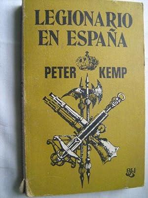 LEGIONARIO EN ESPAÑA: KEMP, Peter