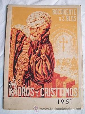 BOCAIRENTE 1951. Programa de fiestas a San Blas. Moros y Cristianos: Sin autor