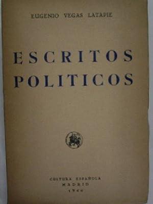 ESCRITOS POLITICOS: VEGAS LATAPIE Eugenio