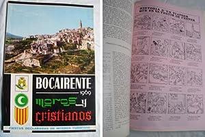 BOCAIRENTE 1969. Programa de fiestas a San Blas. Moros y Cristianos: Sin autor