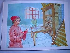 Acuarela Original - Original Watercolor : EL RENACIMIENTO: MASCAROS AMADOR Francisco