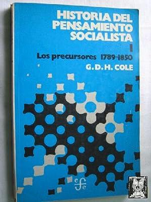 HISTORIA DEL PENSAMIENTO SOCIALISTA (7 volúmenes): COLE, G.D.H.
