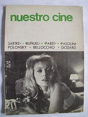 NUESTRO CINE N 66. Sartre, Buñuel, Pabst, Pasolini, Polonsky, Bellocchio, Godard: EZCURRA ...