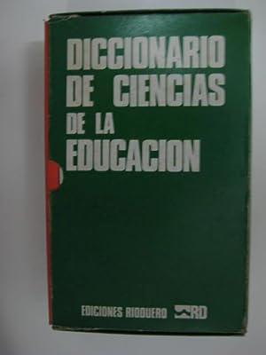 DICCIONARIO DE CIENCIAS DE LA EDUCACION: AAVV