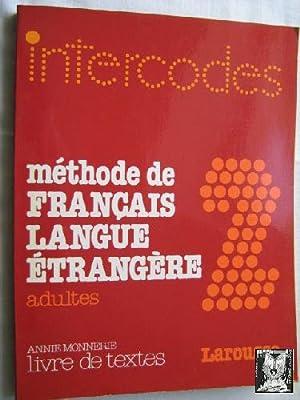9782038000054 Intercodes Methode De Francais Langue