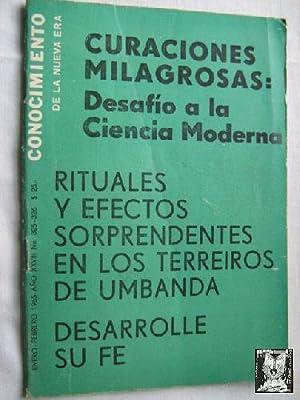 CONOCIMIENTO DE LA NUEVA ERA. N 326. 1965. Curaciones milagrosas: Sin autor