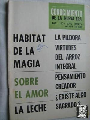 CONOCIMIENTO DE LA NUEVA ERA. N 408. 1971. Hábitat de la magia: Sin autor
