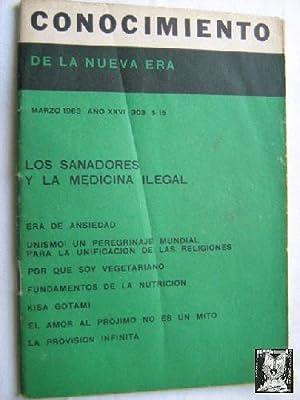 CONOCIMIENTO DE LA NUEVA ERA. Nº 303. 1963. Los sanadores y la medicina legal: Sin autor