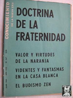 CONOCIMIENTO DE LA NUEVA ERA. N 367. 1968. Doctrina de la fraternidad: Sin autor