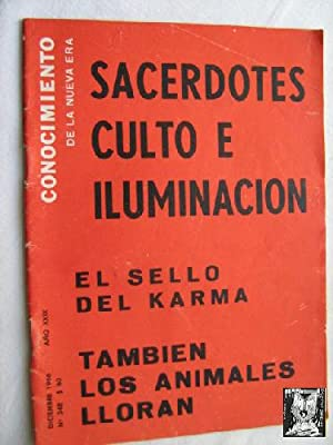 CONOCIMIENTO DE LA NUEVA ERA. N 348. 1966. Sacerdotes, culto e iluminación: Sin autor
