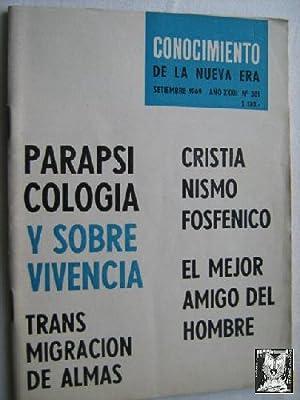 CONOCIMIENTO DE LA NUEVA ERA. Nº 381. 1969. Transmigración de almas: Sin autor