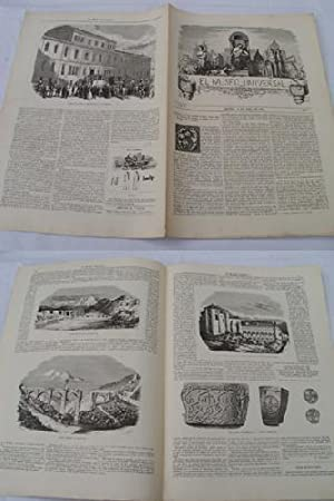 EL MUSEO UNIVERSAL. 30 abril 1857. Núm.8, año I.: GASPAR D.J. (Director)
