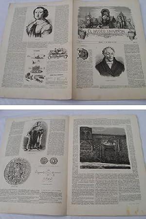 EL MUSEO UNIVERSAL. 15 marzo 1857. Núm.5, año I.: GASPAR D.J. (Director)